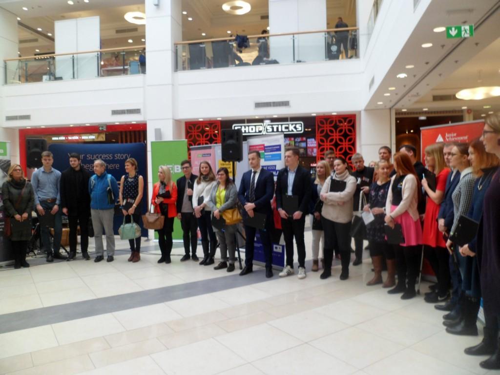 Õpilasfirmade laadal Tallinna Kristiine keskuses Foto Junior Achievement Eesti
