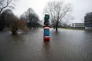 Üleujutatud Ranna park Foto Urmas Saard