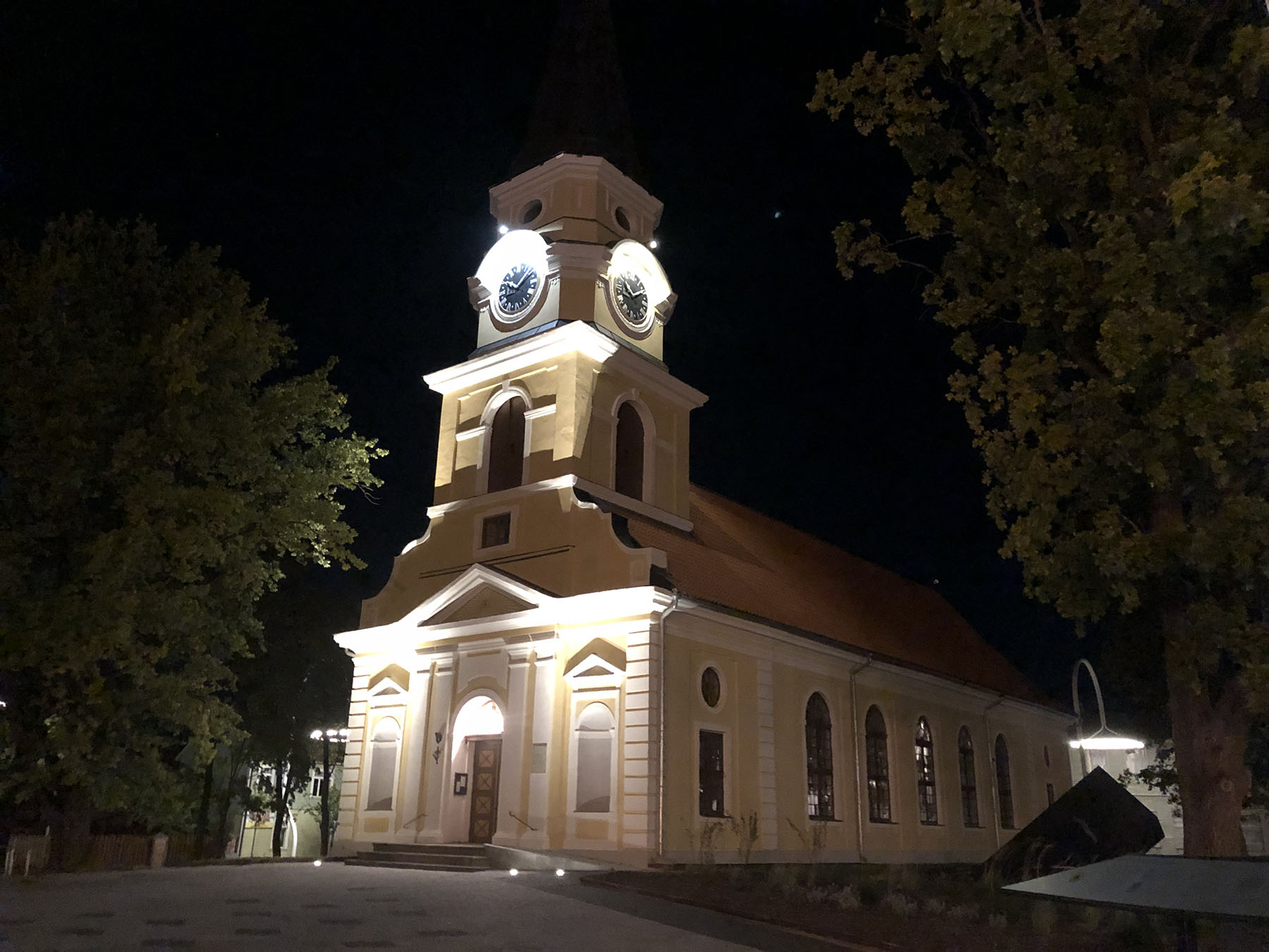 Katariina kirik Võrus. Foto Elina Allas