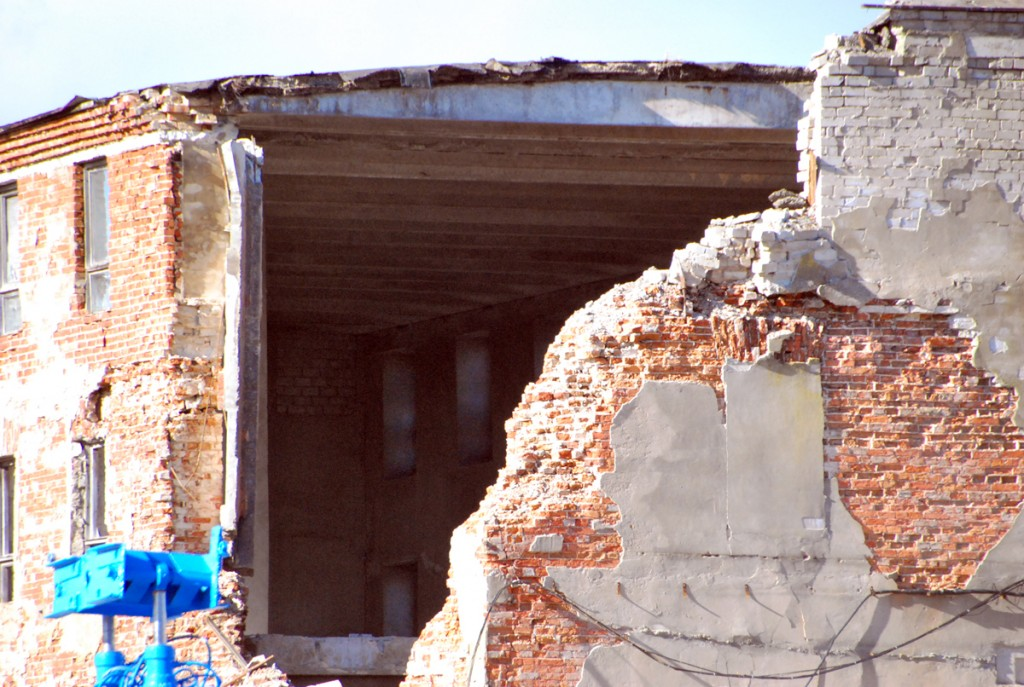17 märtsil toimunud varing Sindi omaegses kalevivabrikus Foto Urmas Saard