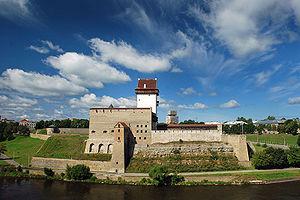 Narva Hermanni linnus.