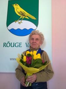 Teenekas veteransportlane Karin Laine. Foto: Rõuge vald