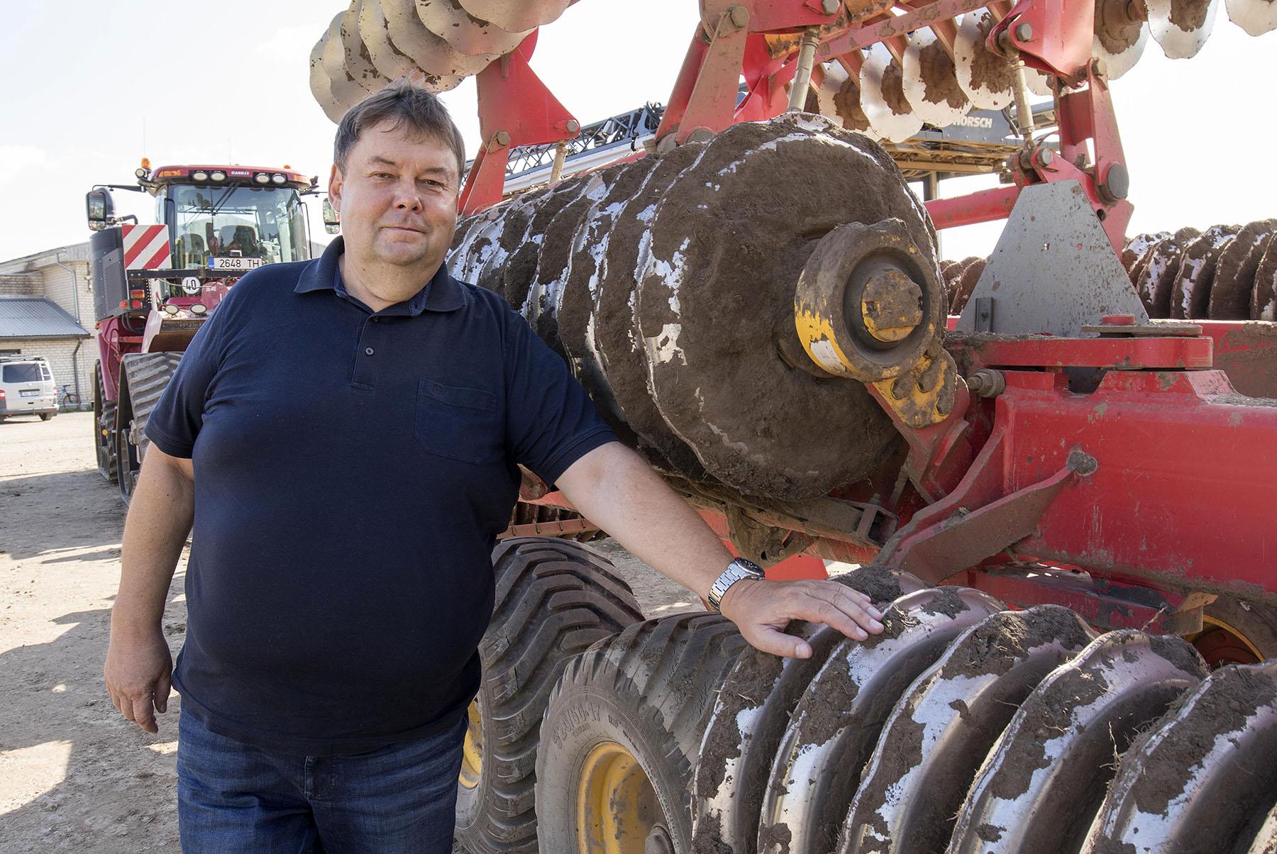 Aasta põllumees Indrek Klammer Foto Sven Arbet, Ekspress Meedia