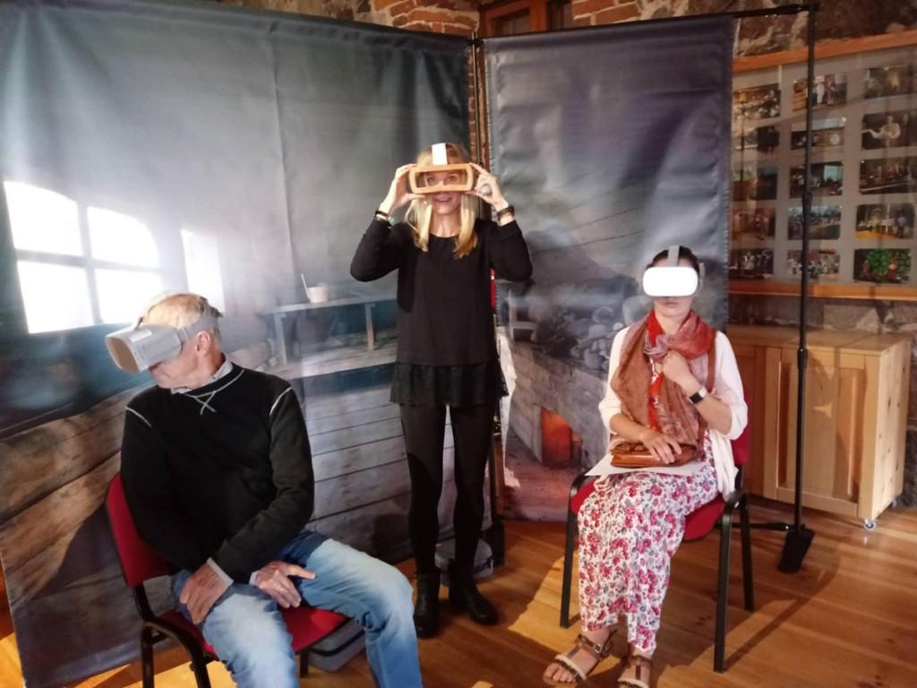 Aktuaal-versus virtuaalreaalsus. Foto Egle Vodi