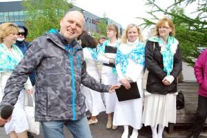 Alari Allikas ja Oiku liikmed Foto Urmas Saard