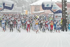 Alutaguse maratoni start. Foto: Tarmo Haud