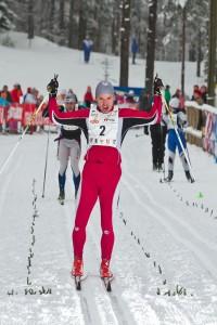 Alutaguse suusamaratoni võitja. Foto: Tarmo Haud