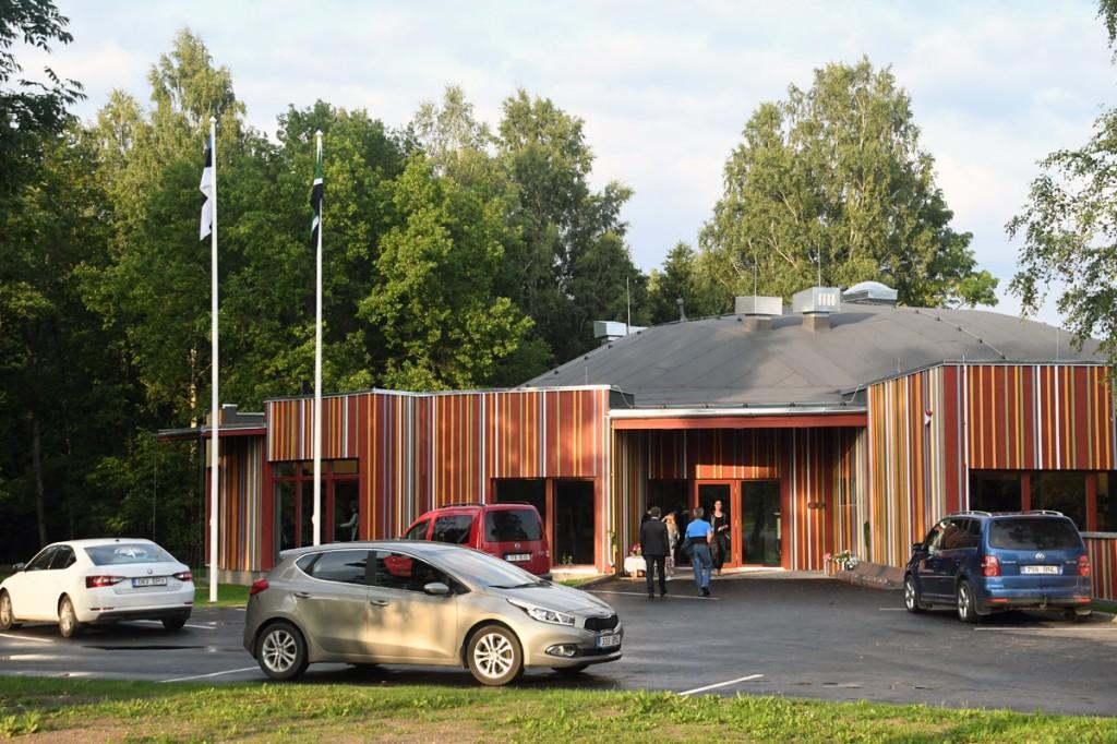 Aruvälja külakeskus Audru vallas Foto Urmas Saard