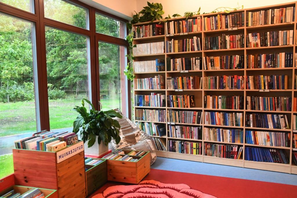 Aruvälja külakeskuse raamatukogu Foto Urmas Saard
