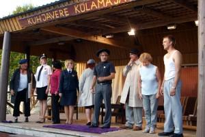 Avinurme Suveteater on mänginud kõigil kümnel Kuhjavere külateatrite festivalil. Foto: Kuhjavere Külaselts