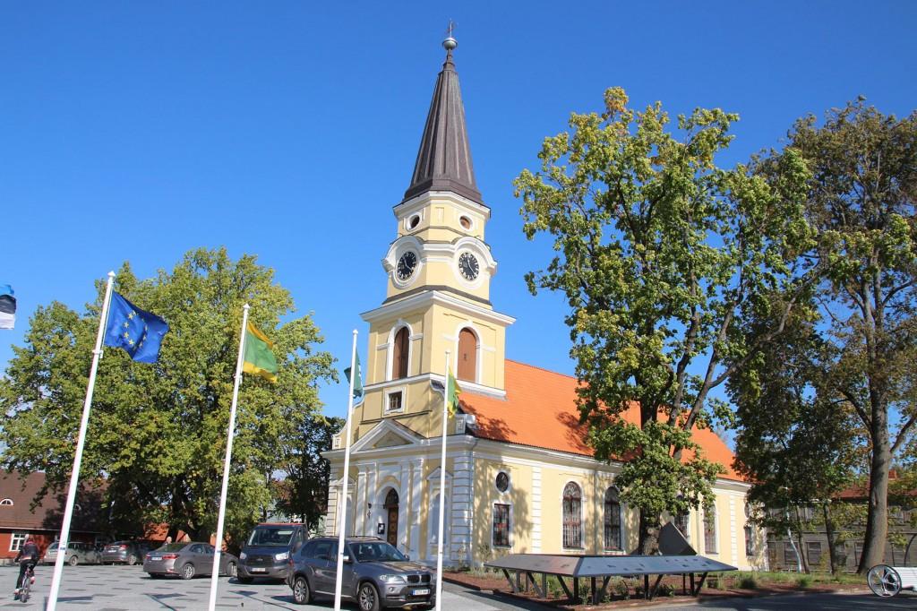EELK Katariina kirik Võrus. Foto Ulis Guth