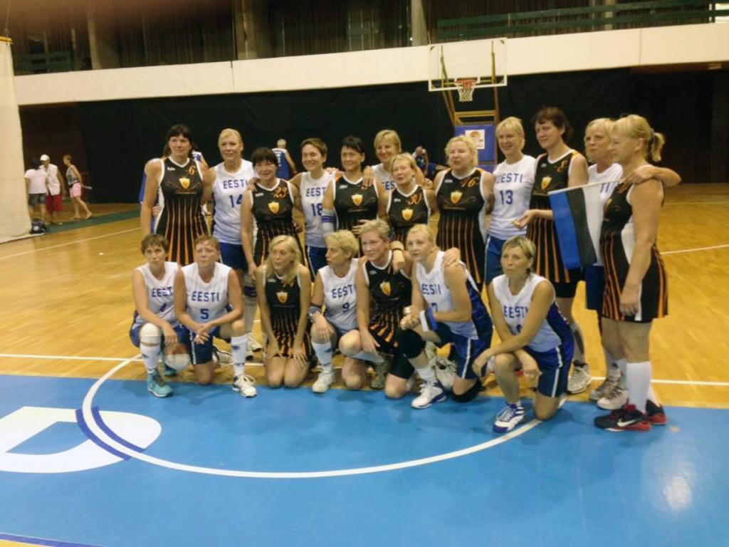 Eesti N50 naiskond peale voitu lätlaste üle