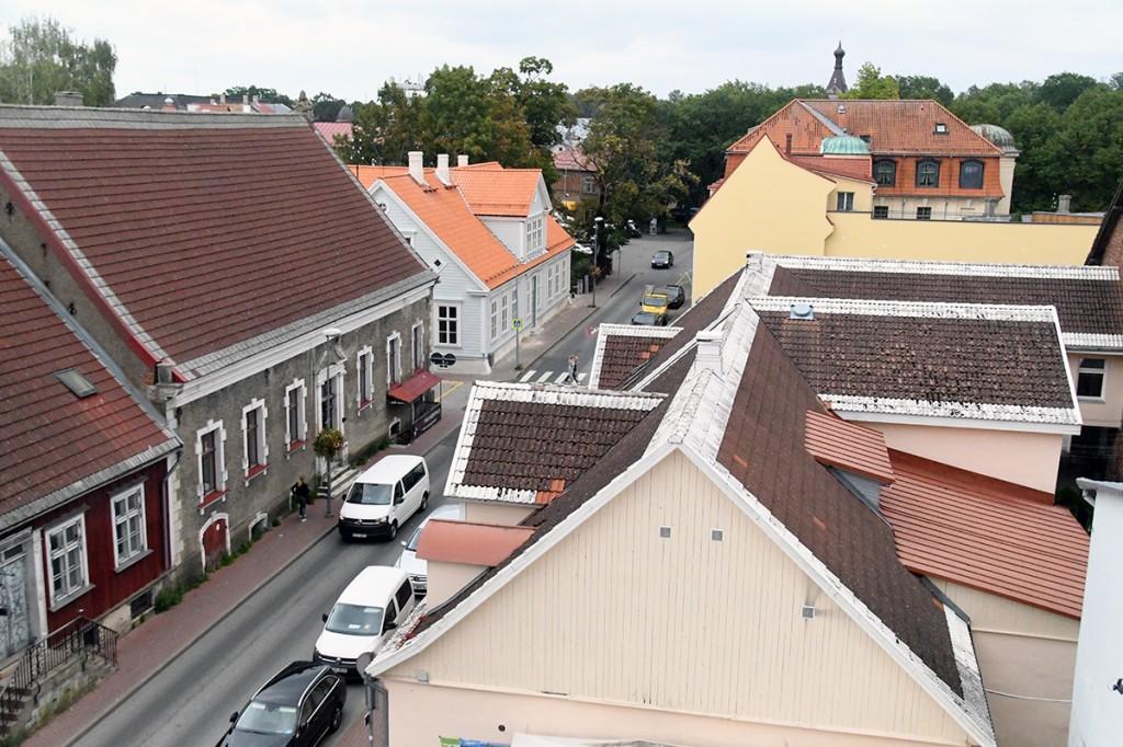 Euroopa kultuuripealinnaks kandideeriv Pärnu, pildil Kuninga tänav Foto Urmas Saard