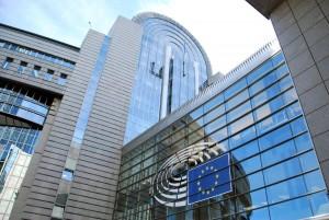 Euroopa parlamendi hoone Brüsselis Foto Urmas Saard
