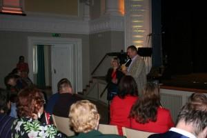 Pildil hetk puuetega inimeste kultuurifestivali avamiselt Viljandis.