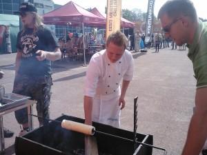 Grillfest Jõhvis selle aasta mais. Foto: erakogu