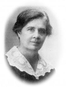 Luuletaja Anna Haava. Foto Pala kooli arhiivist