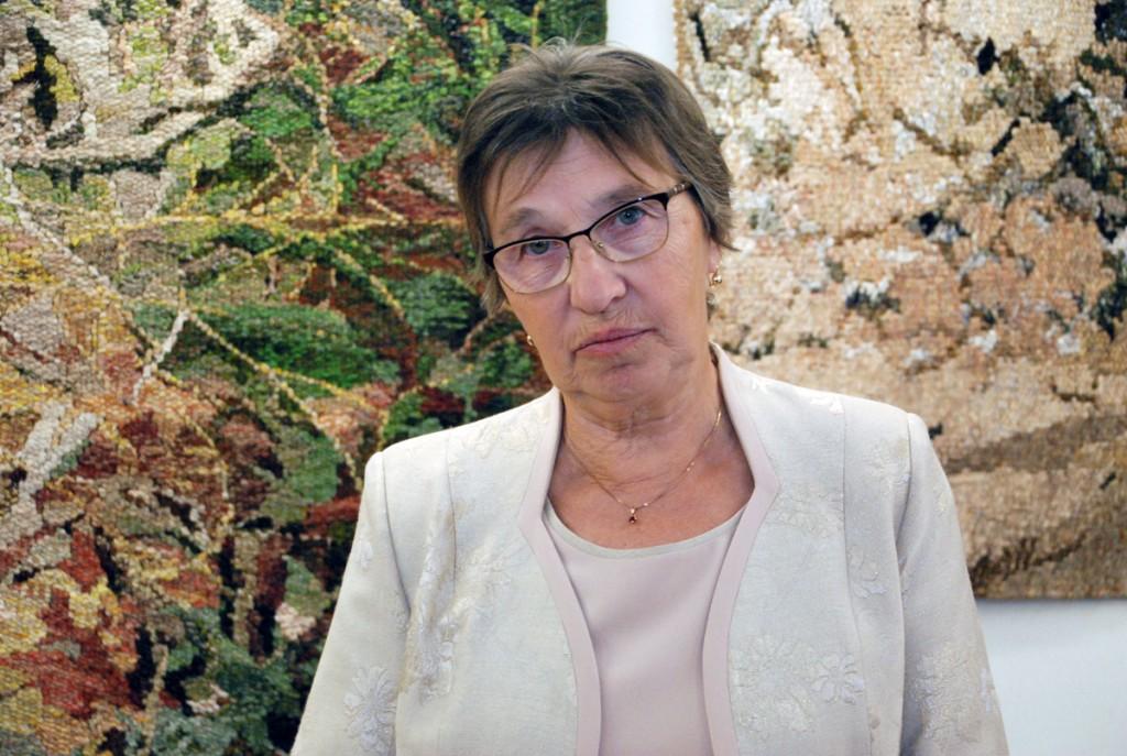 Helgi Tuul 70 sünnipäeva isikunäitust avamas Sindi muuseumis Foto Urmas Saard
