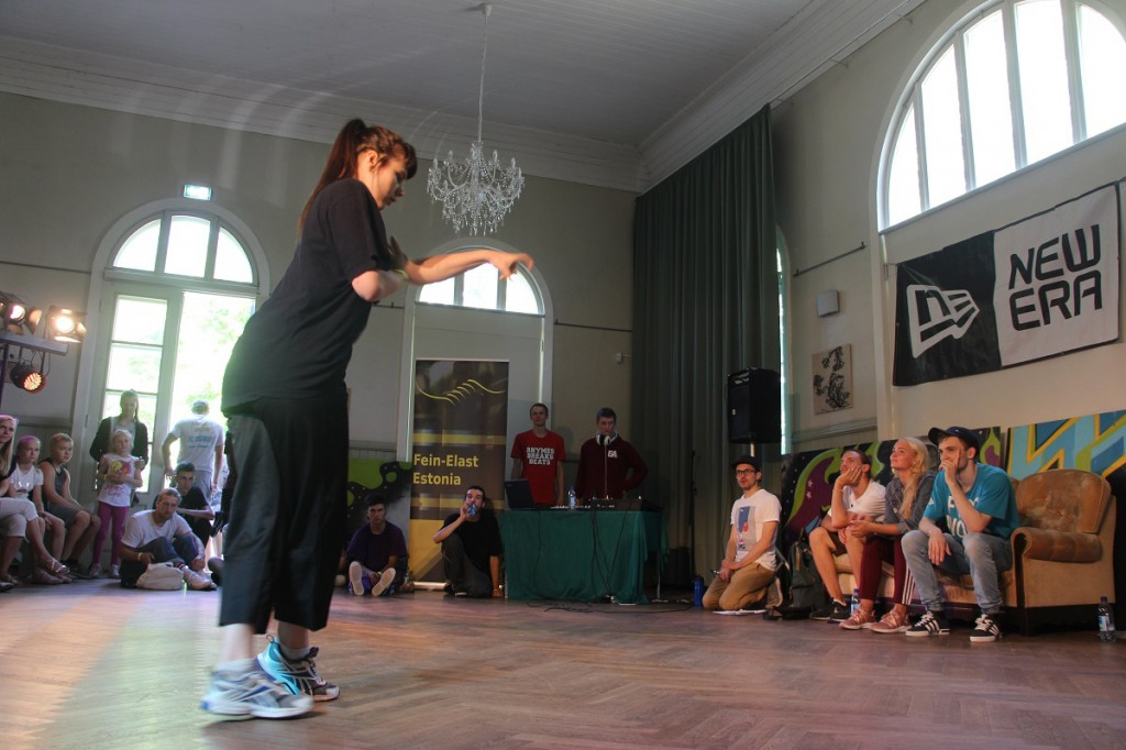 Hip-Hop kategooria võitja Keity Talllinnast tantsuhoos Foto Mikko Selg