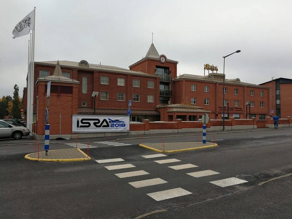 Hotell Vallonia Vaasas, kus toimusid automudelismi juhtrajasõidu maailmameistrivõistlused ISRA 2018 Foto Johannes Mets