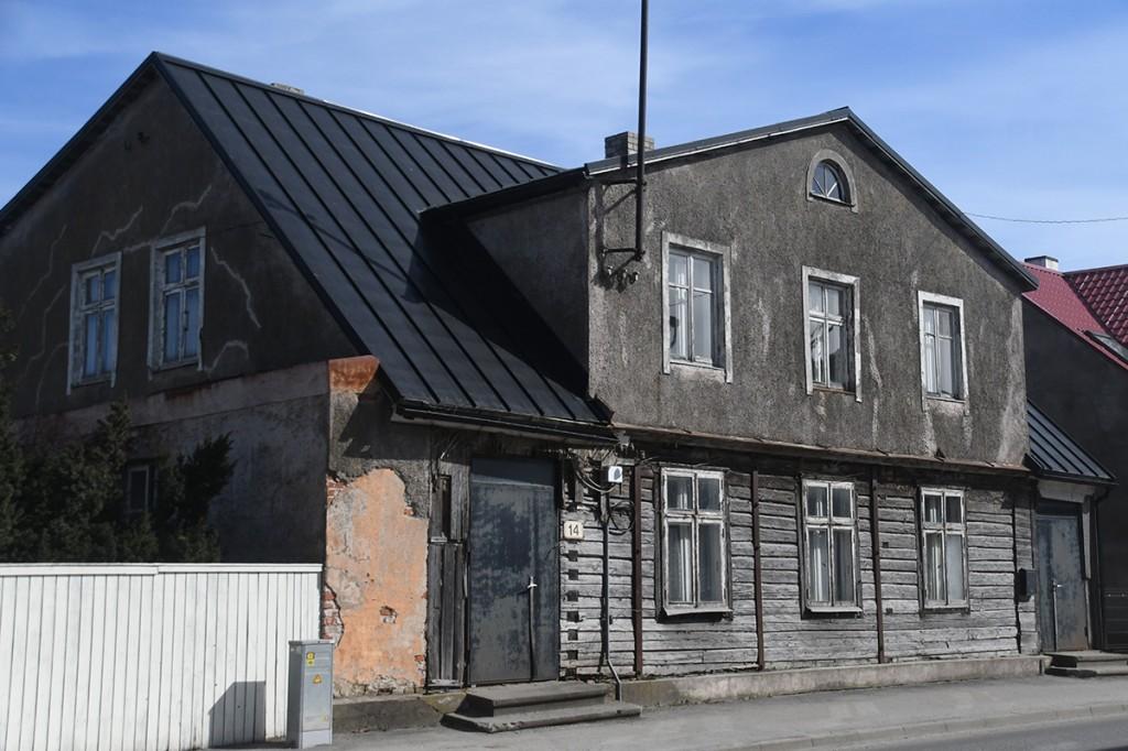 Hugo Kuusneri sünnikodu Pärnus, Karja 14. Foto Urmas Saard