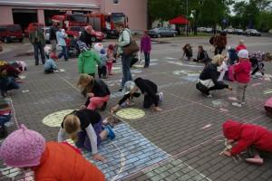 Eelmise aasta perepäev Otepää keskväljakul. Foto: Monika Otrokova