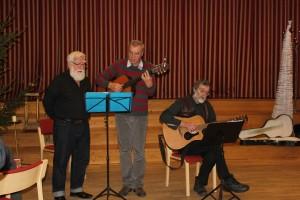 Mustitseerib Eesli Kvartett: Eckard Klug, Pauli Mento ja Priit Talu