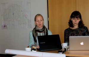 Hendrikson & KO konsultandid tutvustasid asustuse suunamise teema käsitlemise põhimõtteid. Foto: erakogu