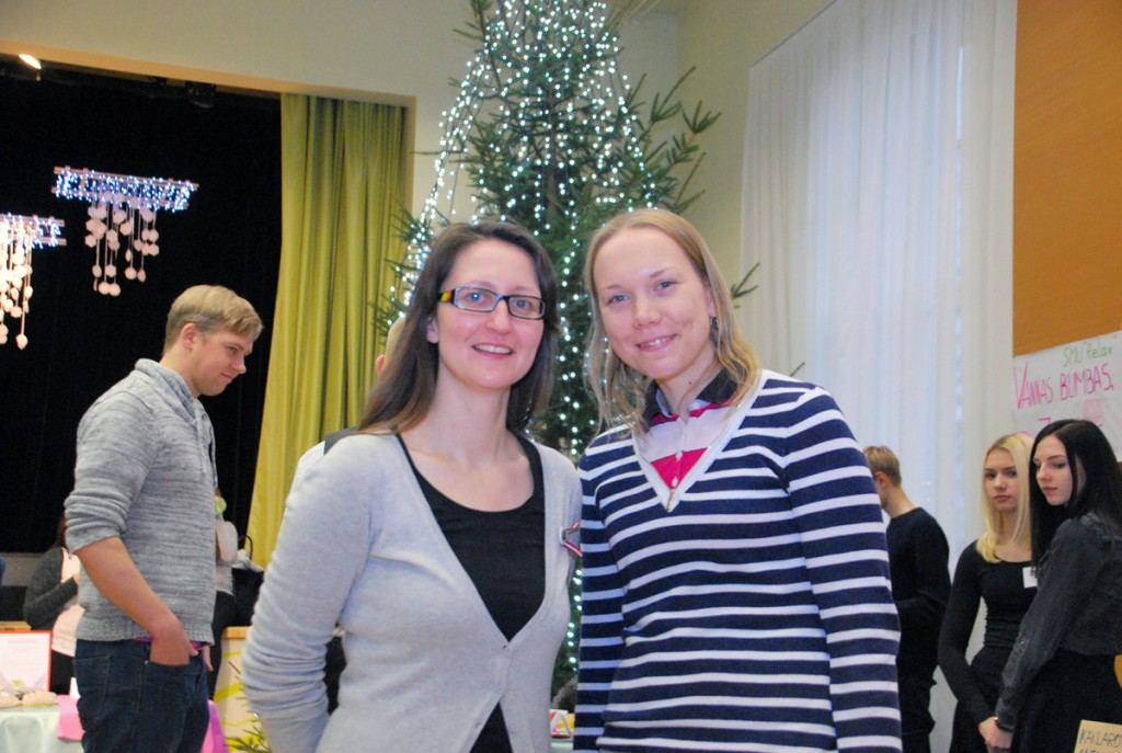 Inga Rokpelne ja Birgit Peterson Foto Urmas Saard