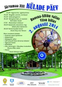 Järvamaa Küladepäev plakat