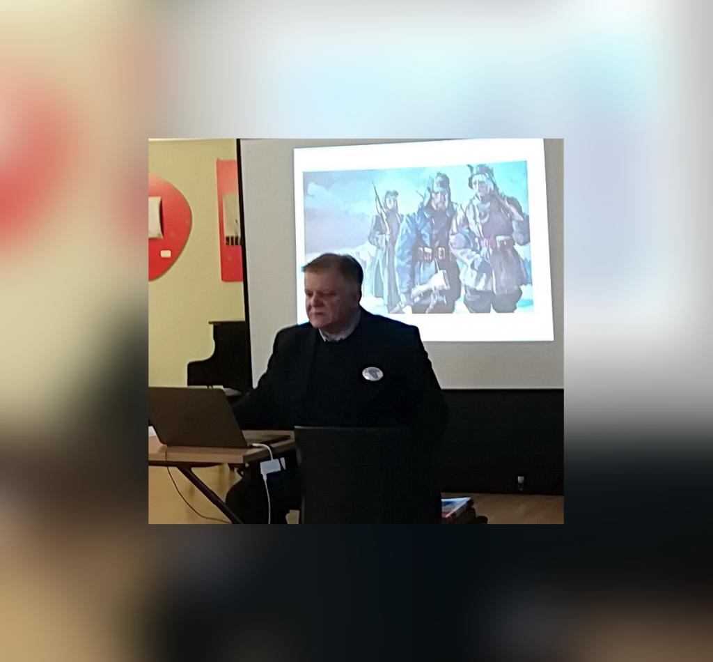 Jüri Estam jaanuaris 2019 Tallinnas Tartu rahu üritusel  Foto Ants Erm