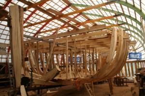 Lodi Jõmmu ehitamine. Foto: ELS
