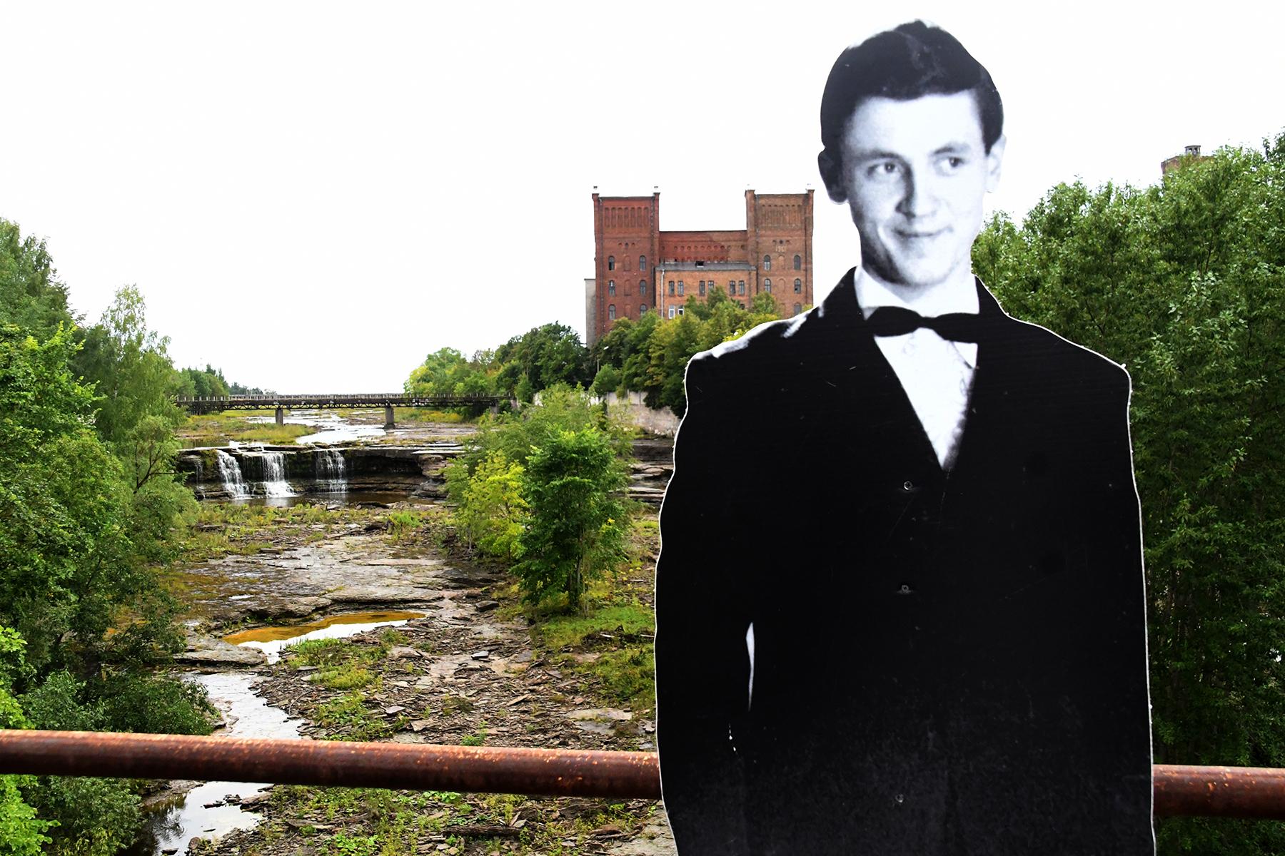 Jaak Joala Unustuste jõel. Foto Urmas Saard