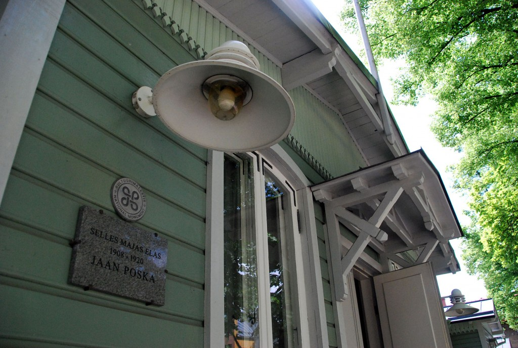 Jaan Poska maja Tallinnas Jaan Poska tänaval. Foto Urmas Saard