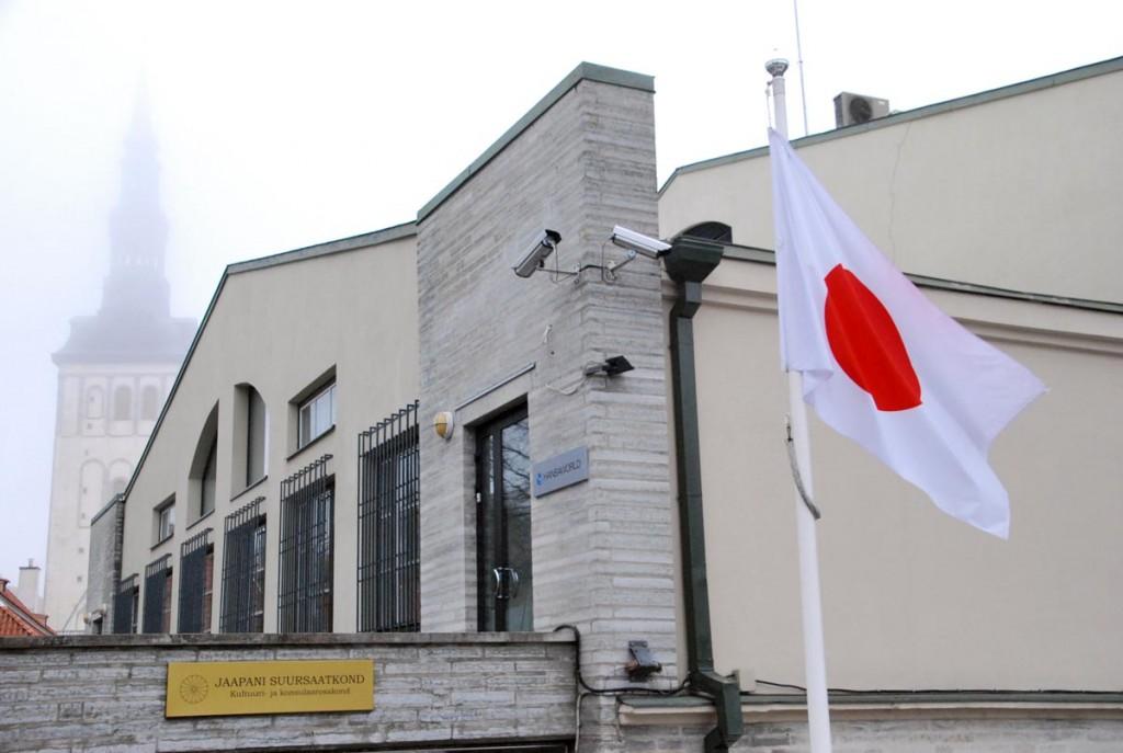 Jaapani Suursaatkond Tallinnas Foto Urmas Saard