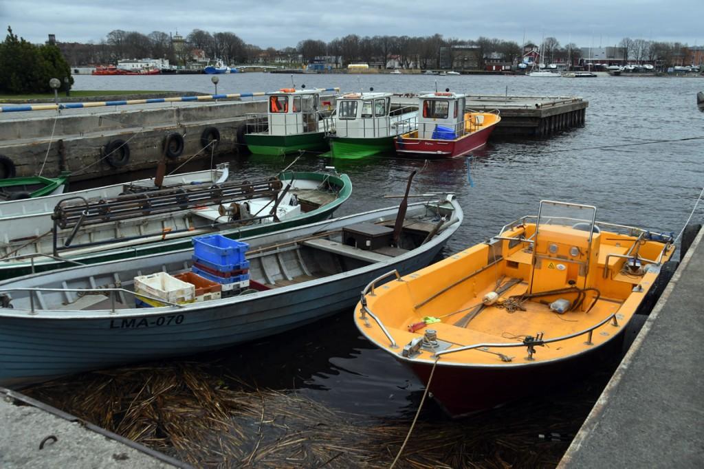 Japsi kalasadam Pärnus Foto Urmas Saard