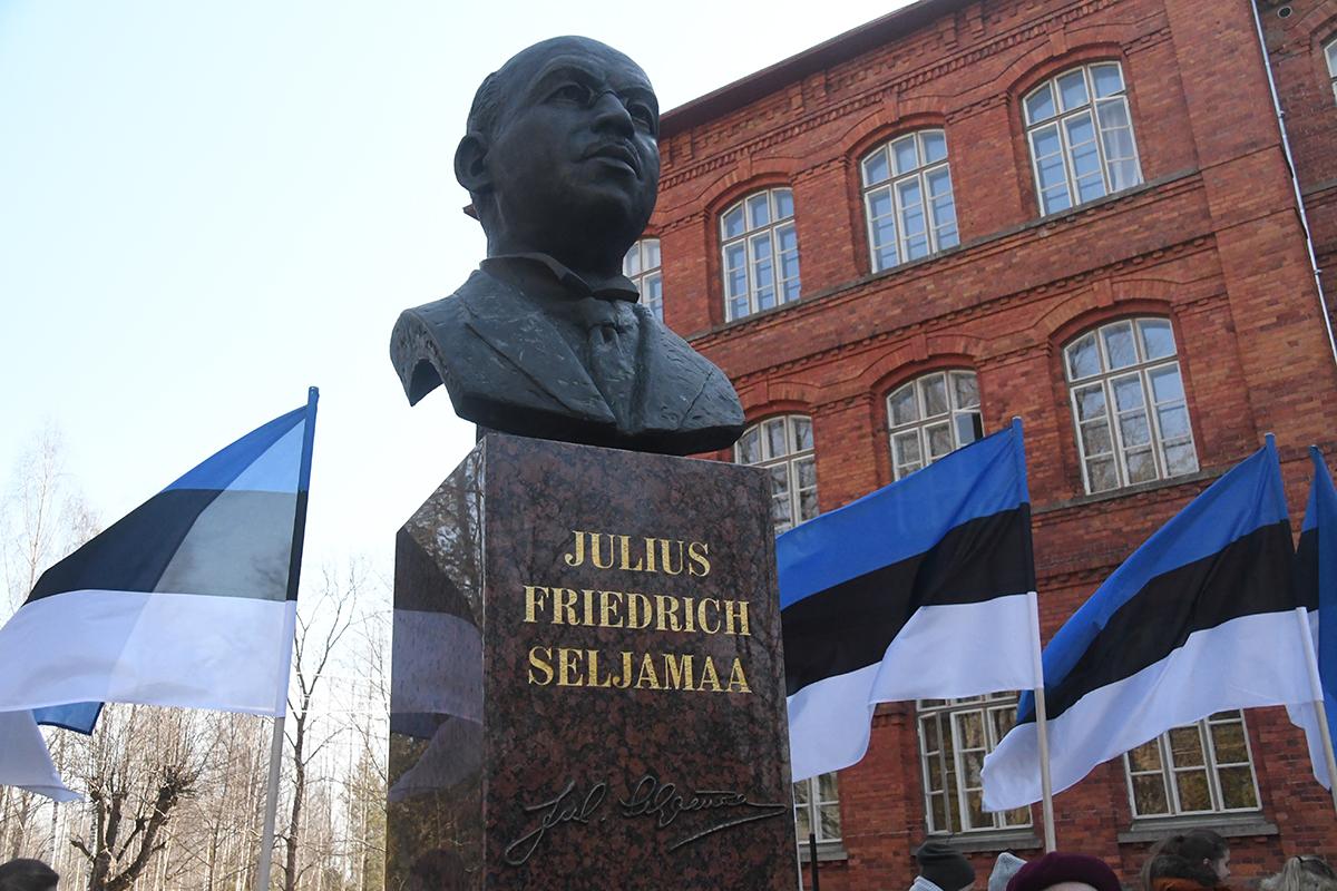 Julius Friedrich Seljamaa, Asutava Kogu esimene abiesimees. Foto Urmas Saard