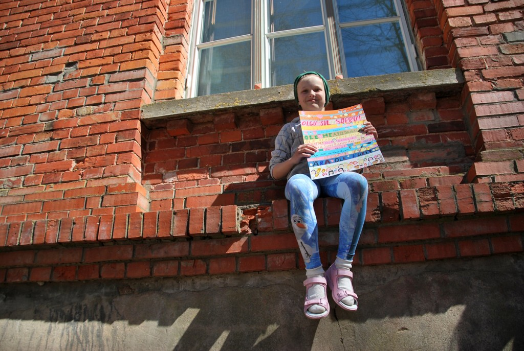 Kaari Kasemaa (8a),  1 koht vanuses 8-9 aastat Foto Urmas Saard