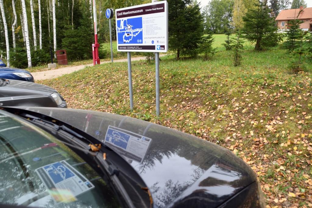 Kanepis asuv Eesti Maanteemuuseum Foto Urmas Saard