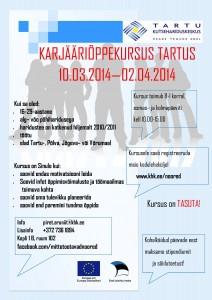 Karjääriõppekursus 10.03-02.04.2014