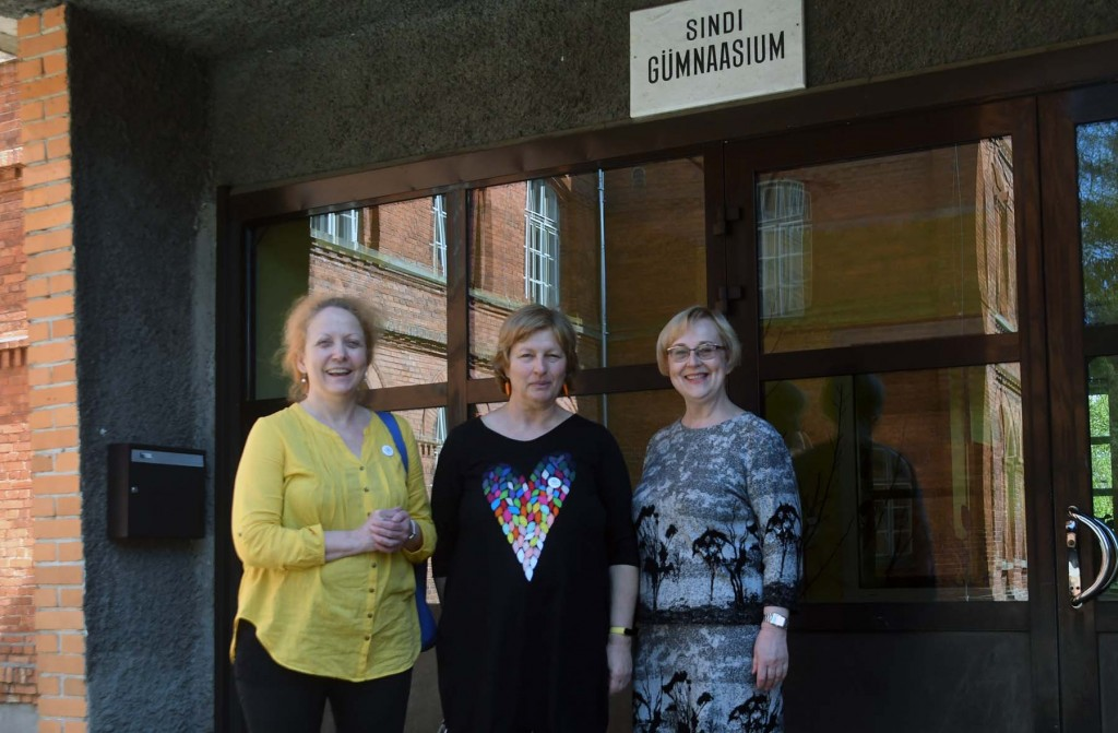 Katrin Reinmaa, Majda Koren, Imbi Jalakas. Foto Urmas Saard