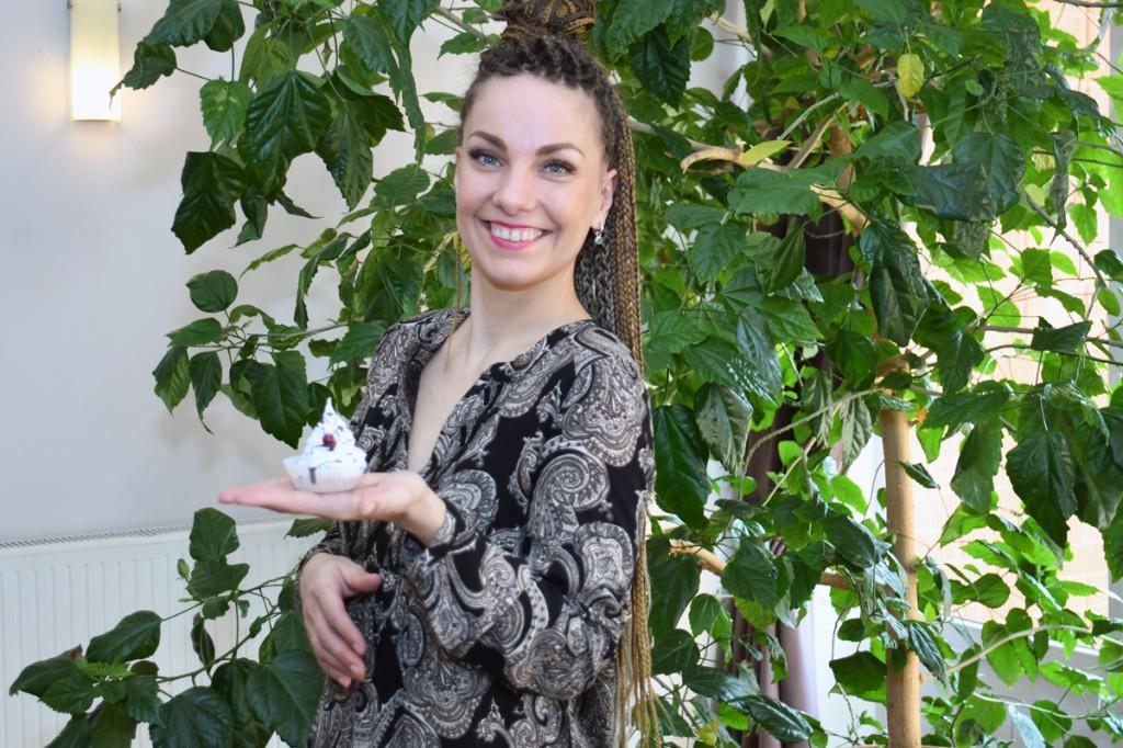 Kersti Kullimaa, ühepäevakohviku Kersti Maiused perenaine Are Huvikeskuses Foto Urmas Saard
