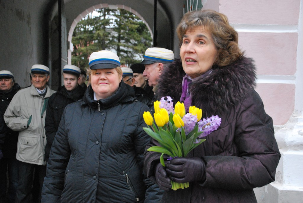 Kevade tervitamine Tallinna väravate juures  Foto Urmas Saard