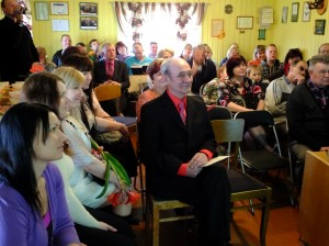 Külaseltsi sünnipäeva peeti Kuhjavere külamajas, mille hubasust ja ökonoomsust pidulikul sündmusel kiideti. Foto: Lagle Vilu