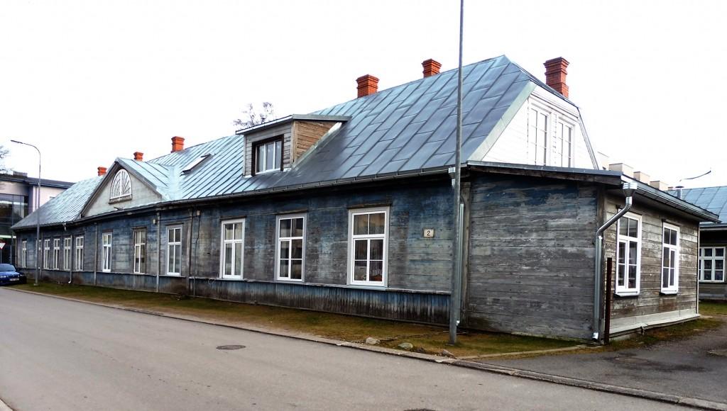 Komandant Possieti elamu Pärnus Suur-Posti 2 on ehitismälestis. Foto Kärt Saard