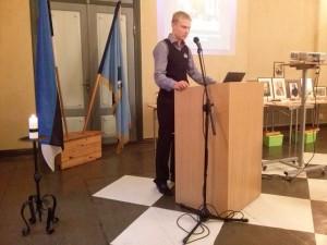 Mait Allas esinemas konverentsil