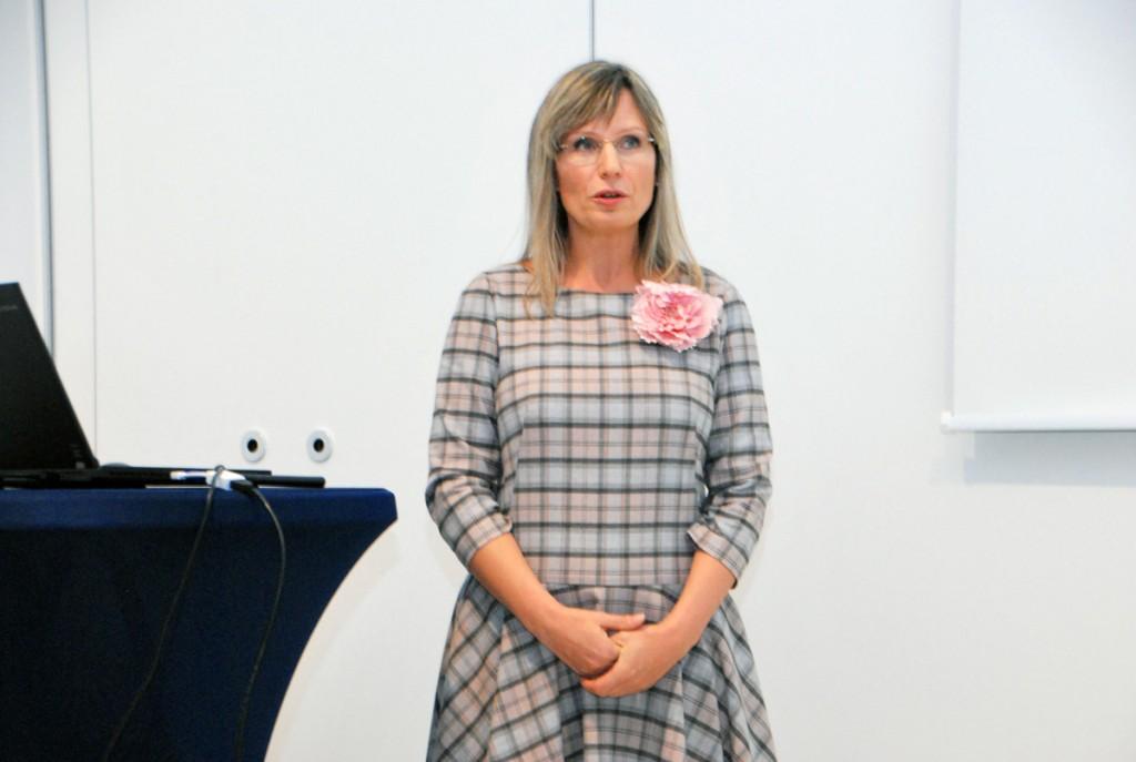 Kristiina Kupper, linna maastikuarhitekt Foto Urmas Saard