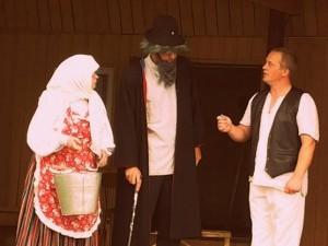 Külatearite üks staažikamaid osalejaid Tänassilma näitering Pupu-Jukud Foto: Kuhjavere külaselts