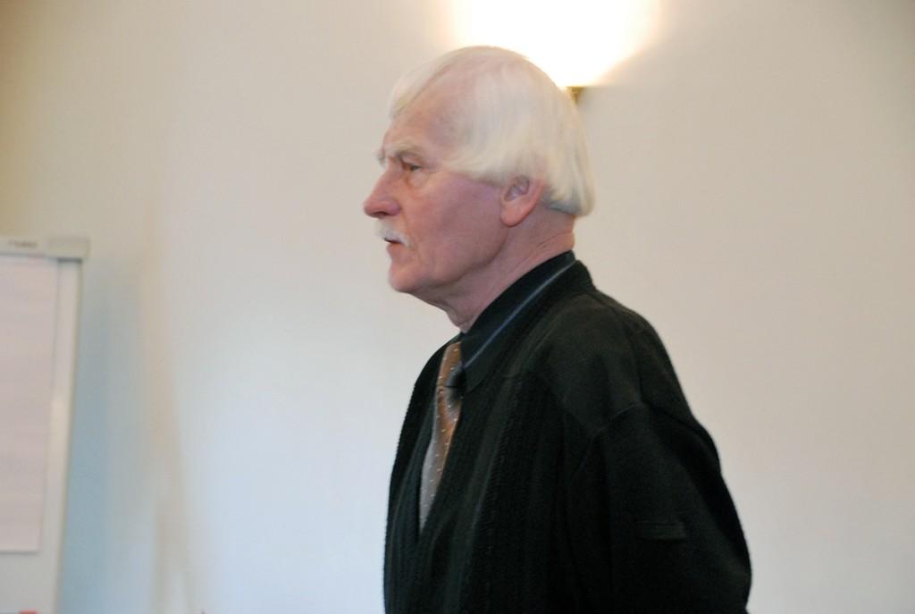 Kunstiajaloolane Jüri Kuuskemaa Foto Urmas Saard