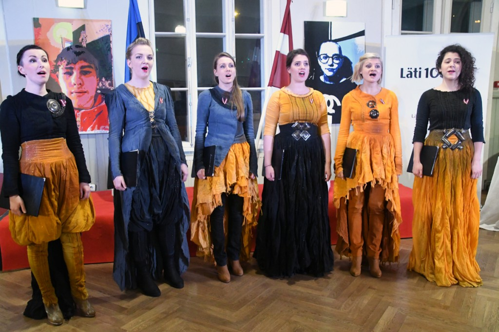 Latvian Voices Laura Jēkabsone, Beāte Locika, Dita Belicka, Zane Stafecka, Laura Leontjeva, Marta Lortkipanidze Foto Urmas Saard